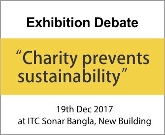 Charity prevents sustainability