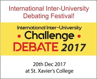 International Inter-University Challenge Debate 2017